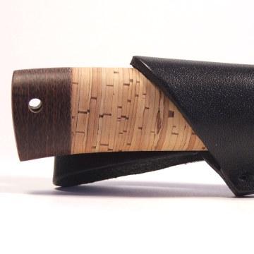 рыбацкий нож АиР Пескарь в бересте