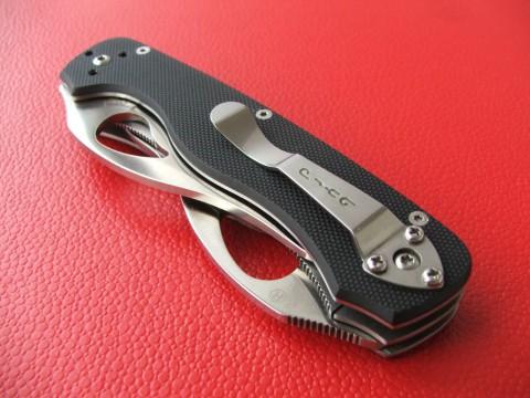 нож на клипсе