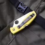 Складной нож Spyderco Salt 1 из нержавейки H1