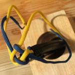 Как связать темляк квадратного сечения для складного ножа