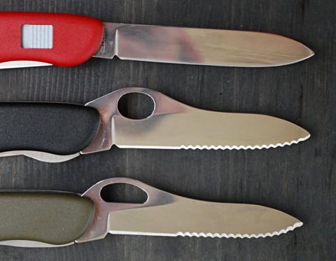 клинки солдатских ножей Викторинокс 111 мм
