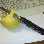 CS26SP Ti-Lite 4 и Golden Delicious