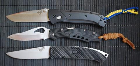 три больших ножа