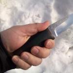 Нож АиР «Нерпа» 95Х18 — большой обзор маленького скиннера
