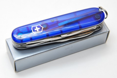 Victorinox Climber transparent blue