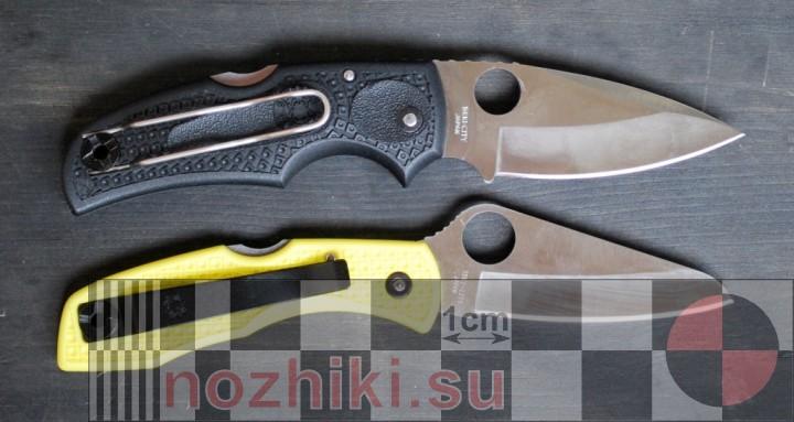 складные ножи Спайдерко Native III и Salt I