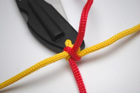 затянутый первый узел