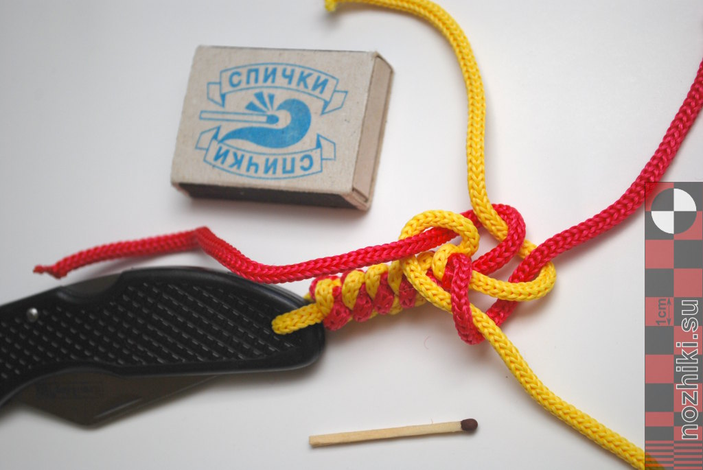 Для плетения темляка