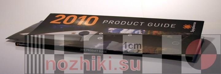 печатный каталог Spyderco 2010 Product Guide