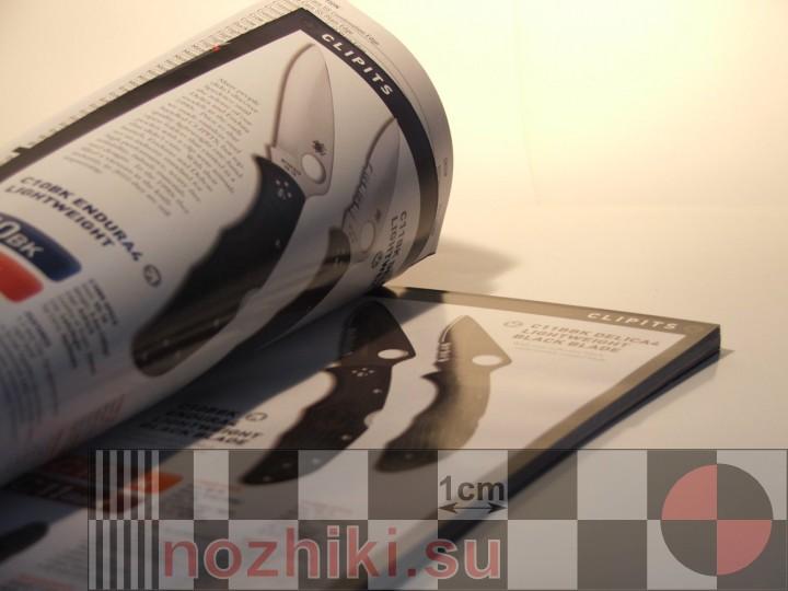 классические складные ножи Спайдерко в каталоге-2010