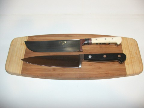 шестидюймовые пчак и поварской нож