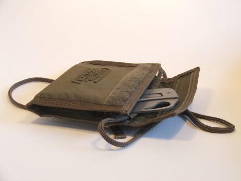 бумажник Camel и нож-карточка