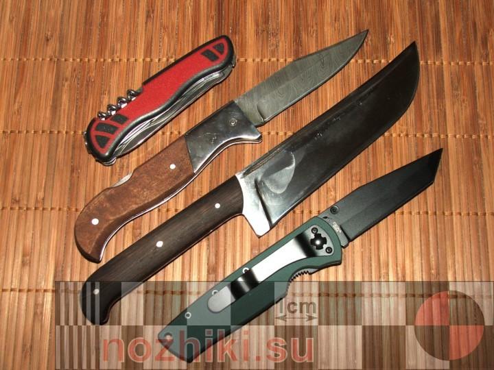 Нож из нержавеющей стали в домашних условиях