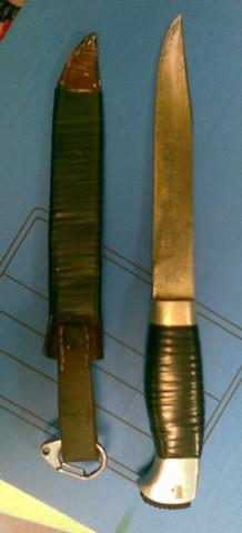 НР-40 и ножны