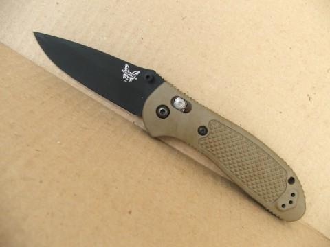 складной нож с клинком около 9см: Benchmade Griptilian BM551BKSN