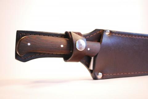 детали кожаных ножен