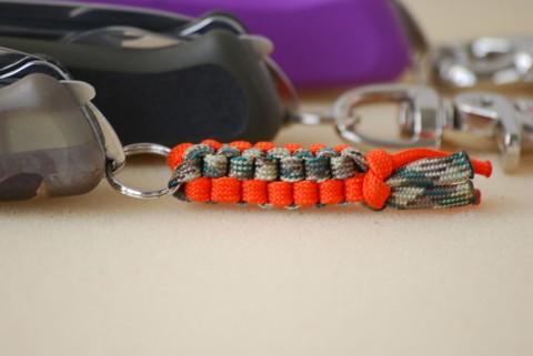 цветной плетеный темляк для ножа