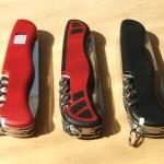 Ножи Victorinox Forester 0.8363.3, 0.8361.C, Rucksack 0.8863.W, или Лесники с Рюкзаком