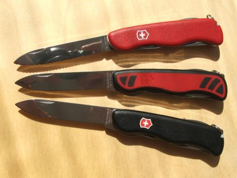 клинки ножей Викторинокс 111 мм (двурукие)
