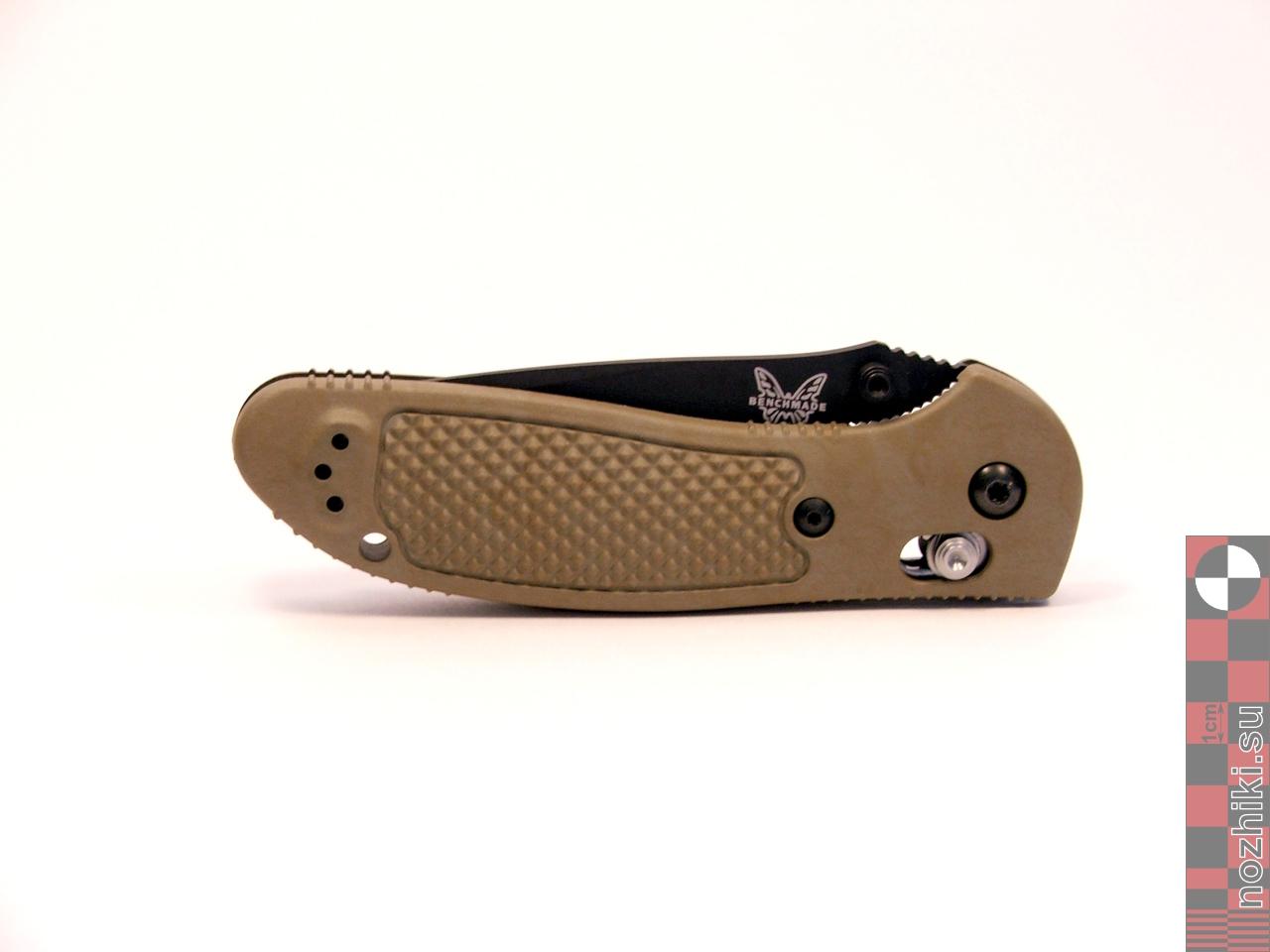 Benchmade-pocket-knife-Griptilian-BM551BKSN-dscf1689. нож Benchmade Griptil