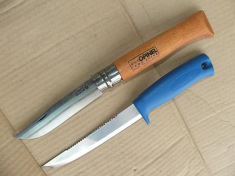 ножи Опинель 12 и Мора Фростс