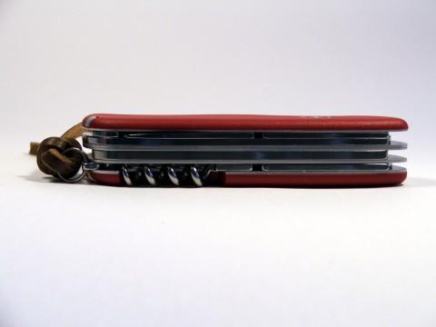 большой четырехрядный швейцарский складной нож