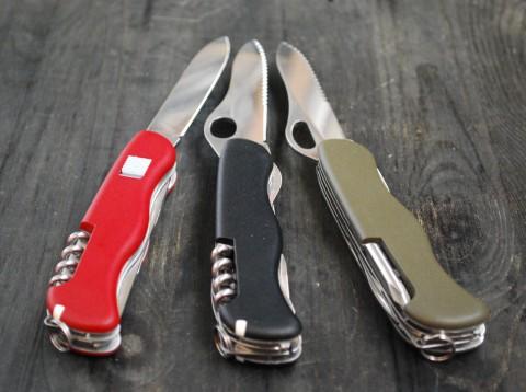 виды клинков складных ножей Викторинокс