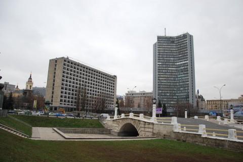 Правительство Москвы в бывшем здании СЭВ на Новом Арбате
