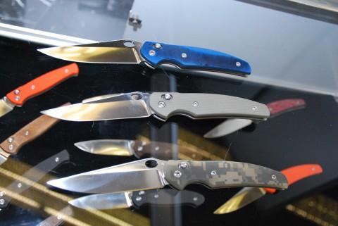 складной нож Ворон работы Чебуркова
