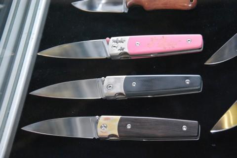 складные ножи из мастерской Чебуркова
