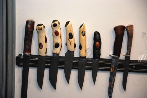ножи с декорированными рукоятками