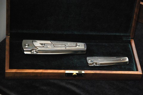 ножи Чебуркова в подарочном оформлении