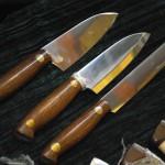 сантоку и нож для мяса Батыр Златоуст
