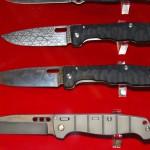 ножи с фреймлоком работы Шокурова