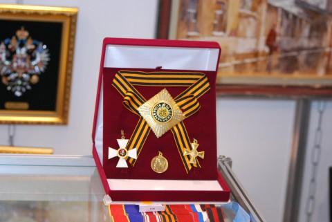 ордена и медали на выставке Клинок-2010
