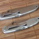 Цельнометаллические ножи Spyderco Endura C10P и Delica C11P