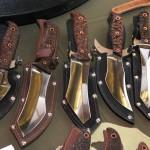 Выставка русских ножей