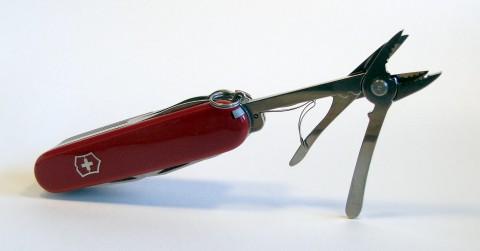 подпружиненные ножницы и пассатижики