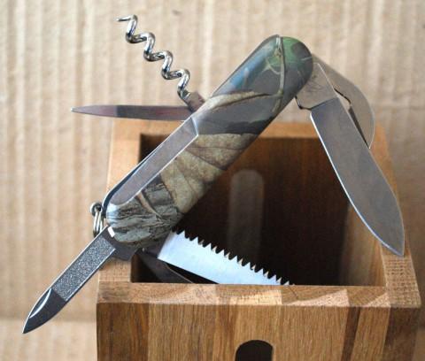 трехрядный офицерский швейцарский нож Венгер