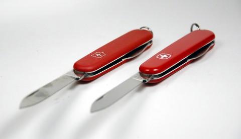 клинки швейцарских ножей 84 мм