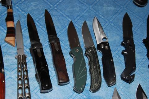 ножи-бабочки, ножи-автоматы и ножи LAND