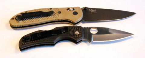 нож с чойлом и без