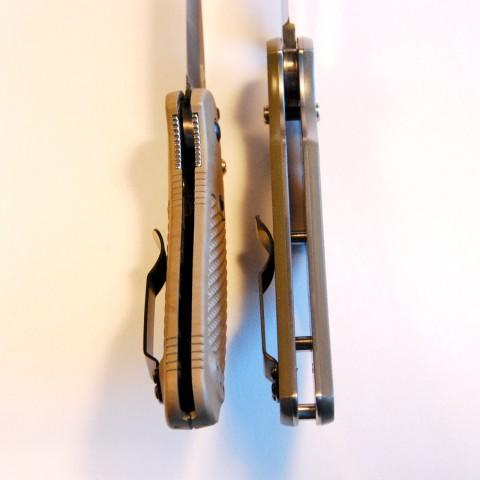 рукоятки ножей с аксисом
