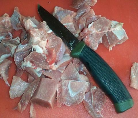 нож Mora Clipper и нарезка мяса