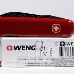Швейцарский складной нож Wenger Classic 11