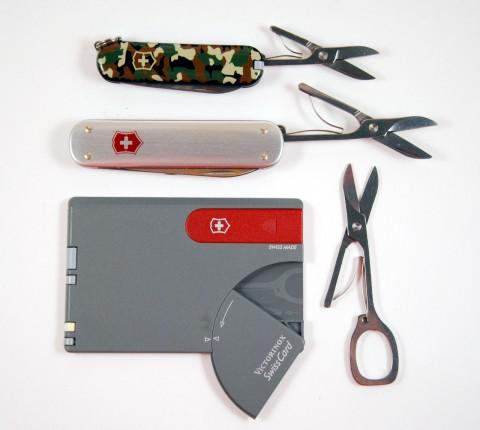 размеры ножниц
