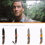 Складной нож выживания Gerber Bear Grylls Folding Sheath Knife