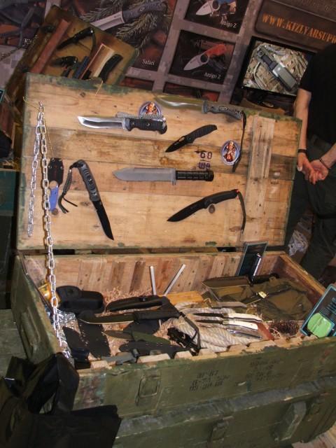 ящик ножей