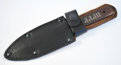 метательный нож в ножнах
