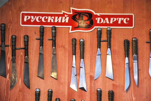 оригинальные ножи от Русского Дартса